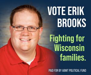 Erik Brooks smiling